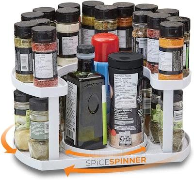 Two-Tiered Spice Organizer & Holder