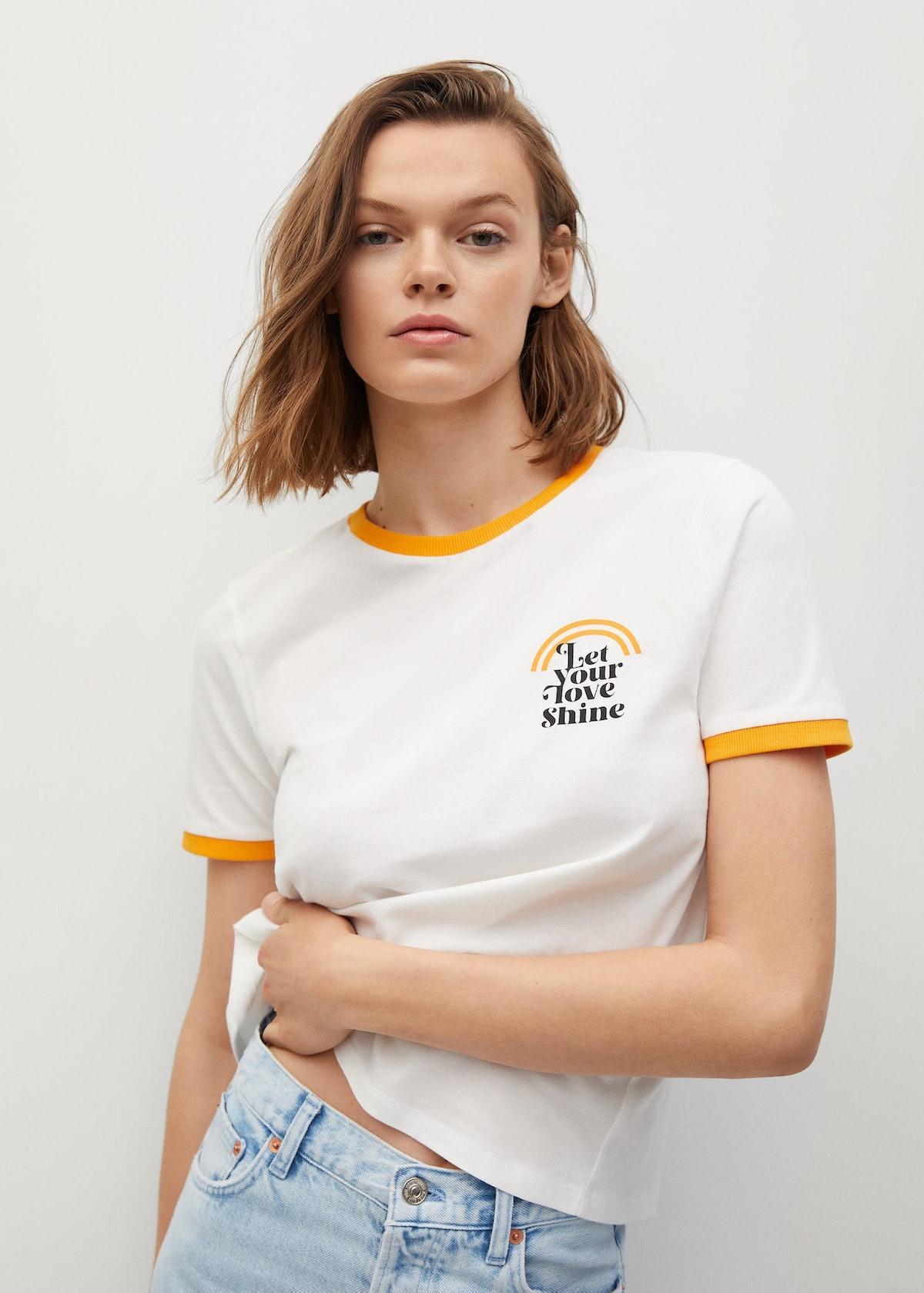 Message Organic Cotton T-Shirt