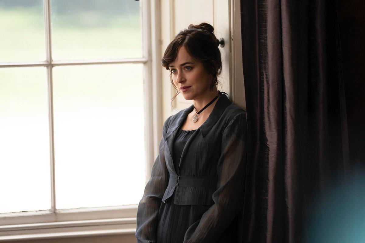 Dakota Johnson as Anne Elliot in Netflix's adaptation of 'Persuasion'