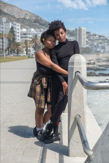 Tumelo and Rutendo from Jamal Jordan's book, Queer Love in Color.