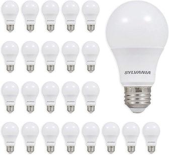 Sylvania 60-Watt Soft White Light Bulbs (24-Pack)