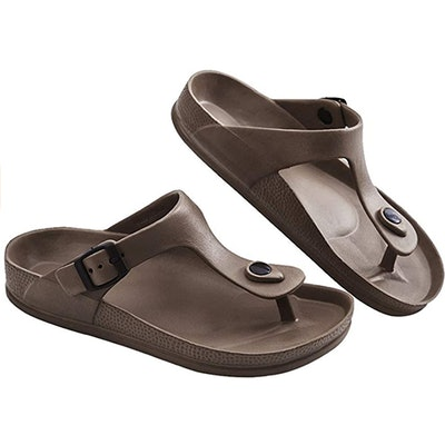 FUNKYMONKEY Adjustable EVA Flat Sandals