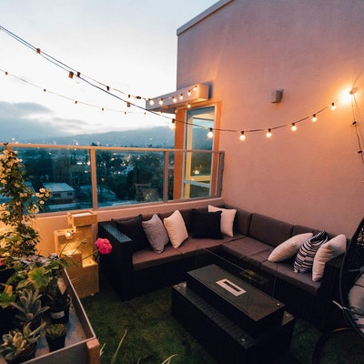 Brightown Store Outdoor Patio String Lights