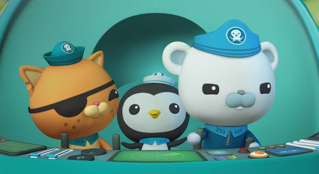 Octonauts & the Great Barrier Reef is an animated movie for kids about the ocean.