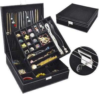 Jewelry Organizer with Lock