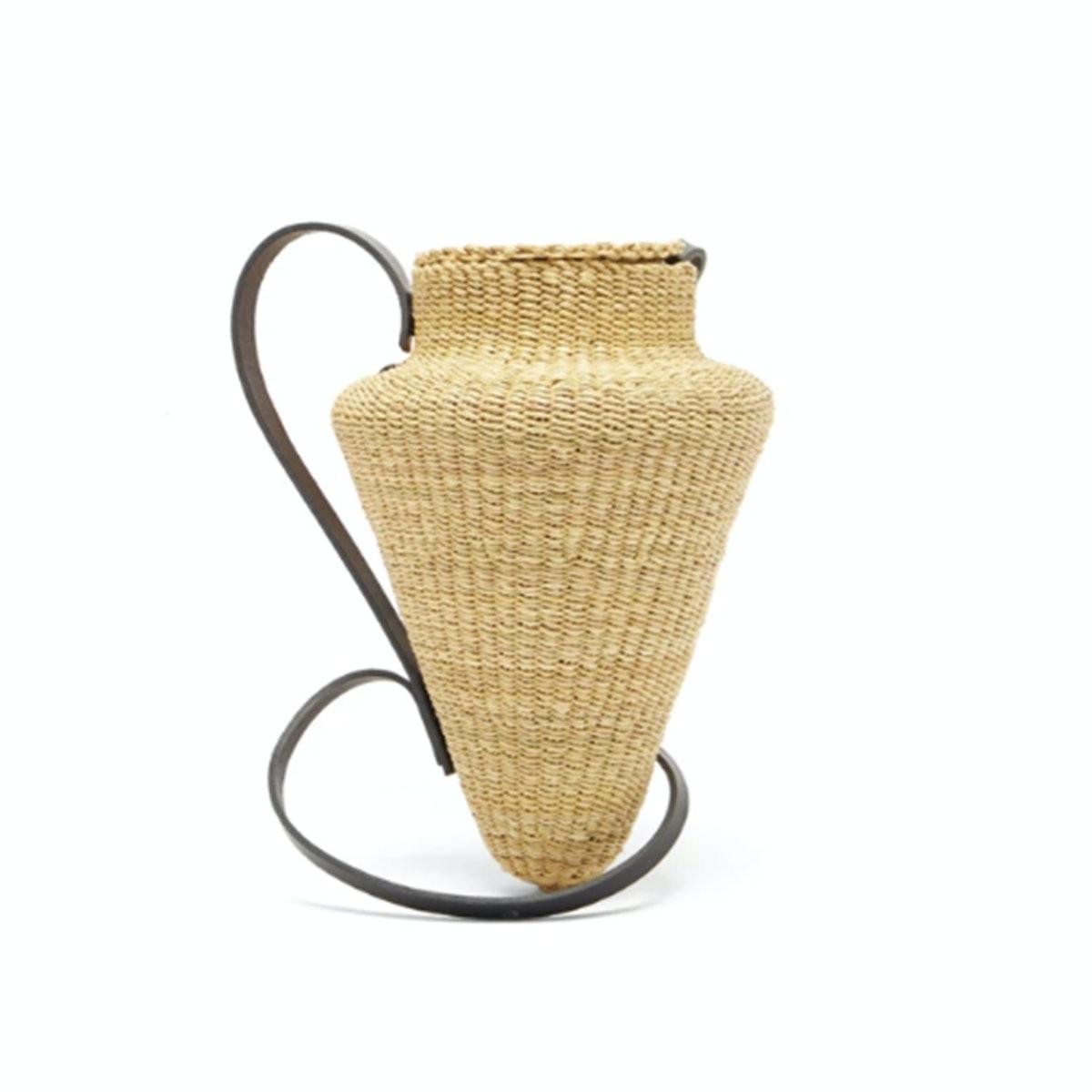 Ines Bressand N.17 Grande Amphore Straw Basket Bag
