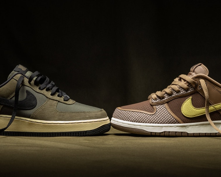 Undefeated Nike Dunk Air Force 1 Pack