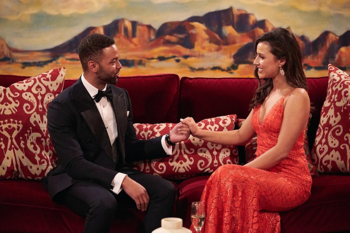 Karl and Katie Thurston in 'The Bachelorette' Season 17.