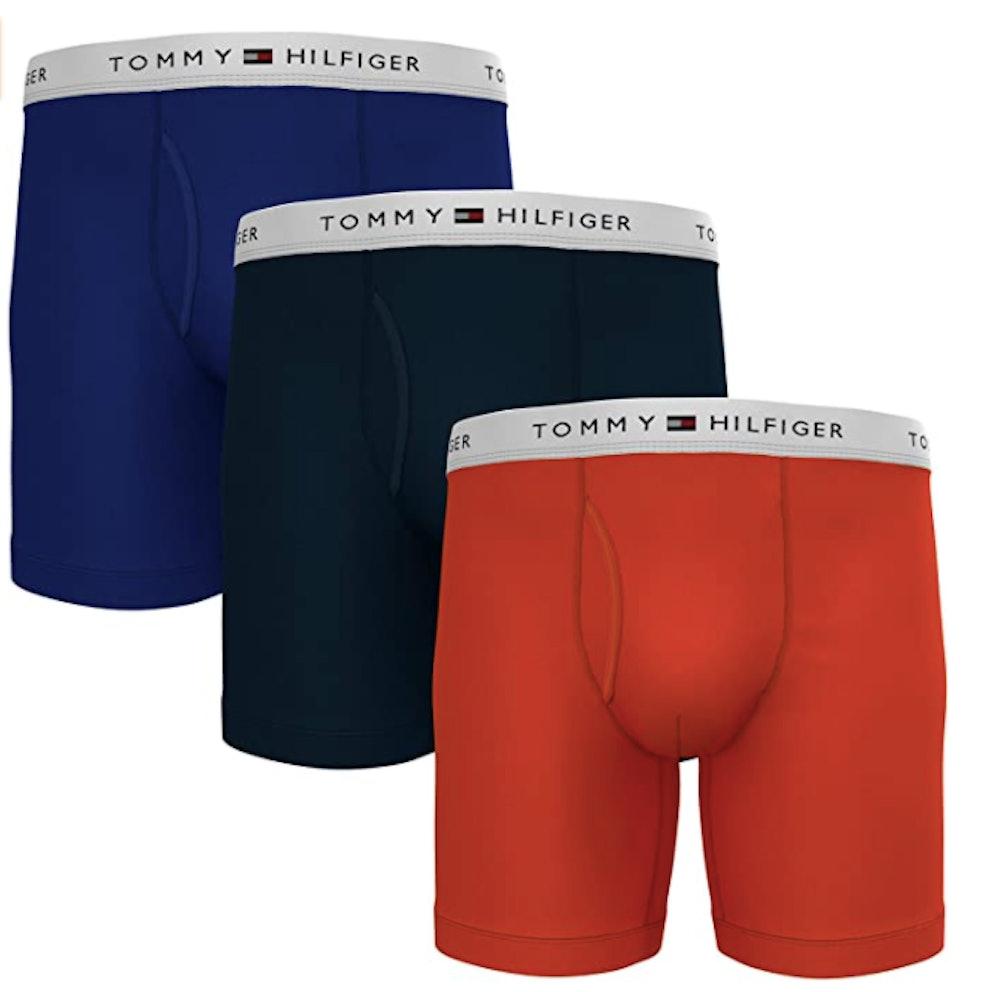 Tommy Hilfiger Cotton Boxer Briefs (3-Pack)