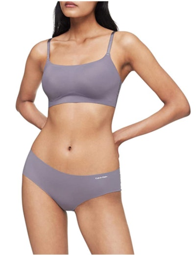 Calvin Klein Invisibles Comfort Seamless Adjustable Bralette