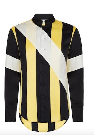 Wales Bonner Sunshine Panelled Shirt