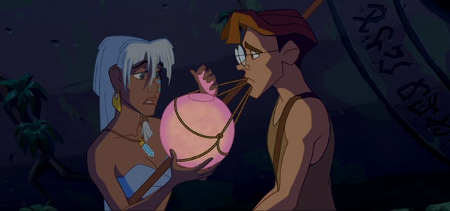 Atlantis is a 2001 animated feature from Disney.