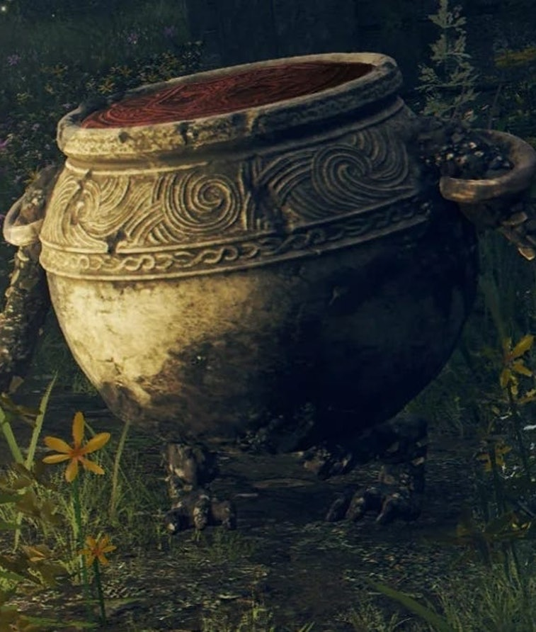 A Pot Goblin from Elden Scrolls by From Software. Meme. Internet. Video games. Gaming.