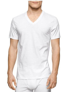 Calvin Klein Cotton Classics Multipack V-Neck T-Shirts, 3-Pack