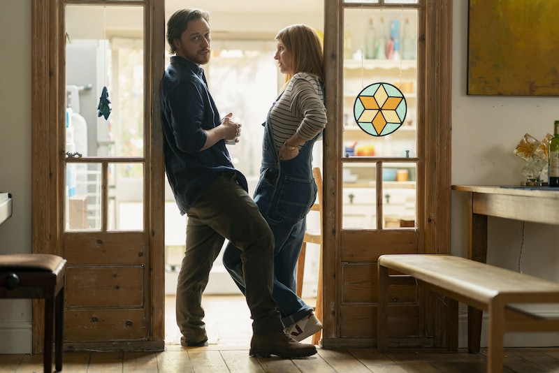 James McAvoy and Sharon Horgan in BBC's 'Together'