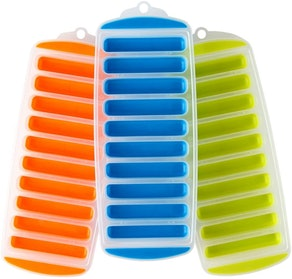 Lily's Home Silicone Narrow Ice Cube Trays