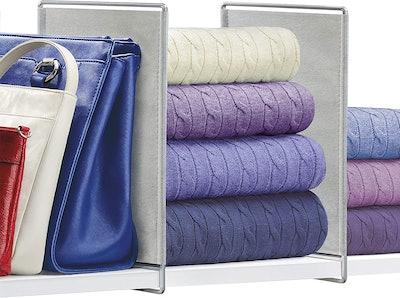 Lynk Vela Closet Shelf Dividers (2-Pack)