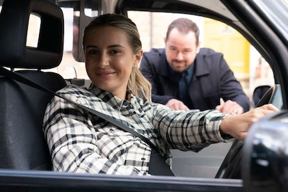Dani Dyer and Danny Dyer in 'Eastenders'