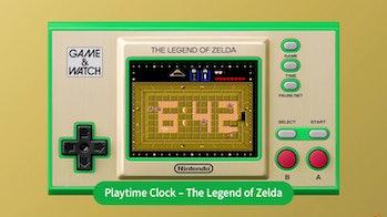 Nintendo Zelda Game & Watch interactive clock