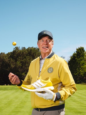 Extra Butter x Adidas Shooter McGavin Happy Gilmore capsule