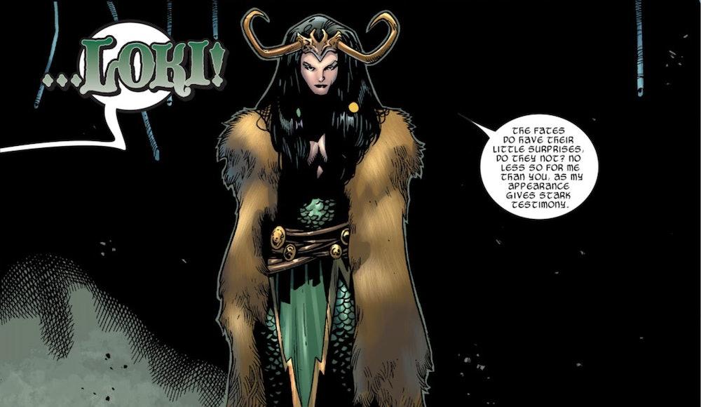 Lady Loki reveal marvel comics