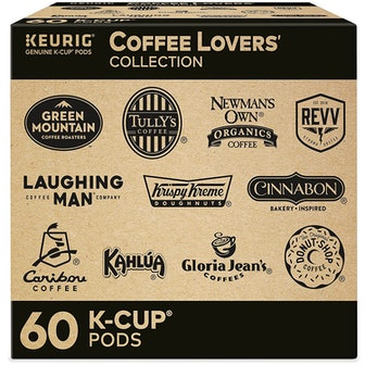 Keurig Coffee Lovers Collection Variety Pack, 60 Count