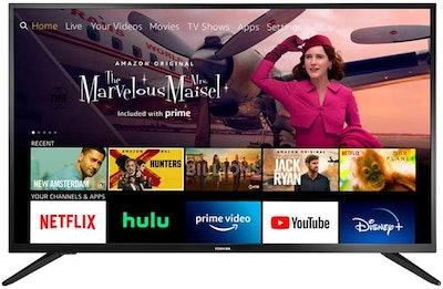 Toshiba 32-inch Smart HD 720p TV, Fire TV Edition