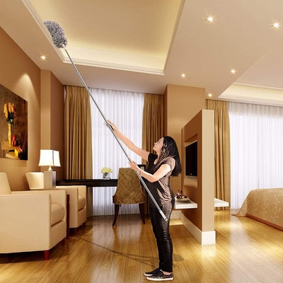 Azun Microfiber Duster with Extension Pole