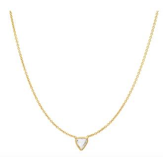 Bychari Rose Cut Diamond Necklace No.48
