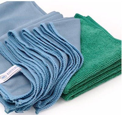 Microfiber Glass Cleaning Cloths (8-Pack)