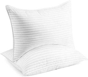Beckham Hotel Collection Set Of 2 Luxury Gel Bed Pillows (Queen Size)