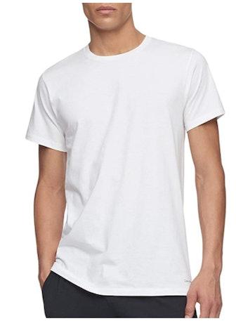 Calvin Klein Men's Cotton Classics Slim Fit Multipack Crew Neck T-Shirts (7-Pack)