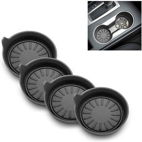 Interesting car Soft Groove Coasters (4-Pack)