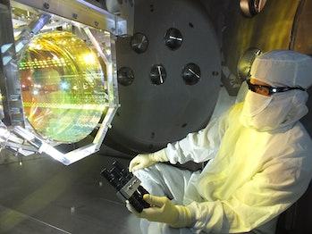 LIGO mirror quantum state