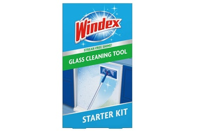 Windex Outdoor All-In-One Glass and Window Cleaner Tool Starter Kit