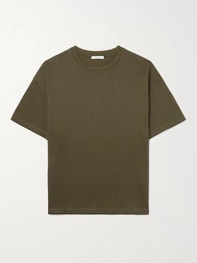 Boxy Organic Cotton Jersey T-Shirt