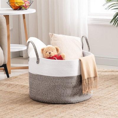 YOUDENOVA Large Cotton Storage Basket