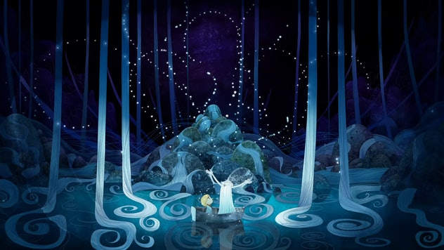 Song of the Sea is an ocean movie for kids produced by the animators of The Book of Kells.
