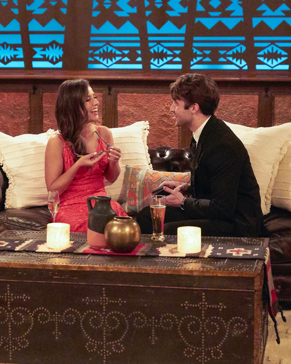 Katie and Greg on the first 'Bachelorette' 1-on-1 date of the season