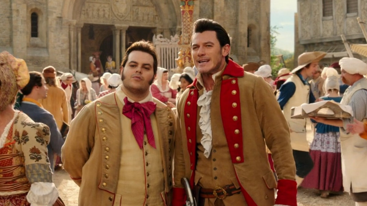 Luke Evans and Josh Gad will reprise their roles as Gaston and LeFou in 'Beauty and the Beast'