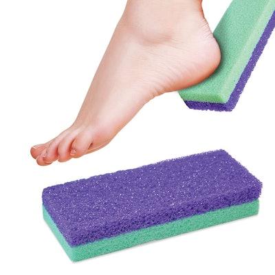 Maccibelle Salon Foot Pumice and Scrubber (2-Pack)
