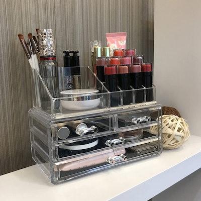 Ikee Design Jewelry/Makeup Organizer
