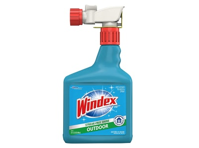 Windex Outdoor Window, Glass, & Patio Cleaner With Hose Attachment