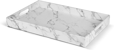 Home Redefined Faux Leather Serving Tray