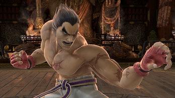 kazuya character smash ultimate
