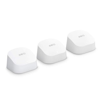 Amazon eero 6 dual-band mesh Wi-Fi 6 system (3-Pack)