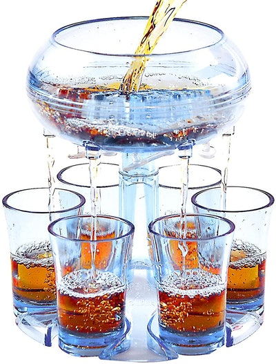 Lareina 6 Shot Acrylic Glass Dispenser