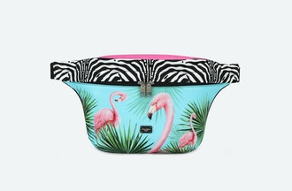 Flamingo Print Unisex Belt Bag