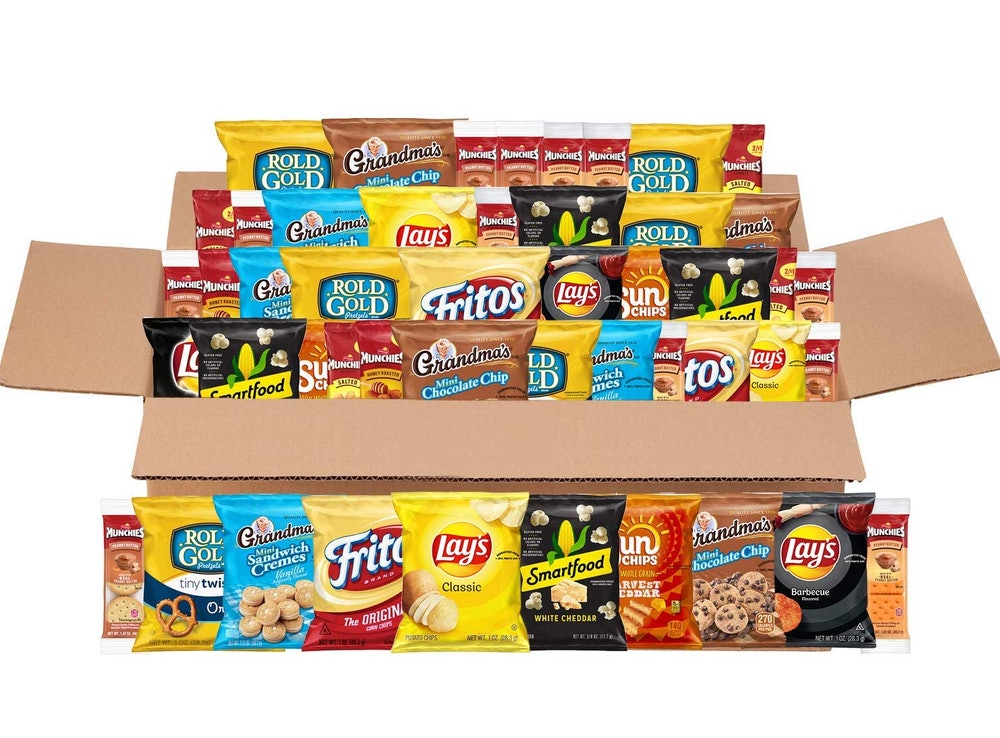Frito Lay Sweet & Salty Snack Variety Box (50 Count)