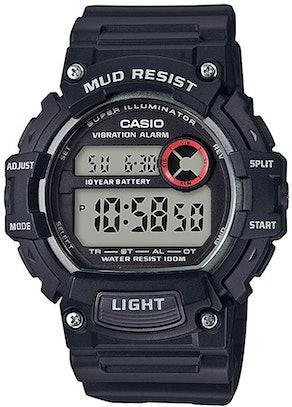 Casio Mud Resistant Stainless Steel Quartz Watch